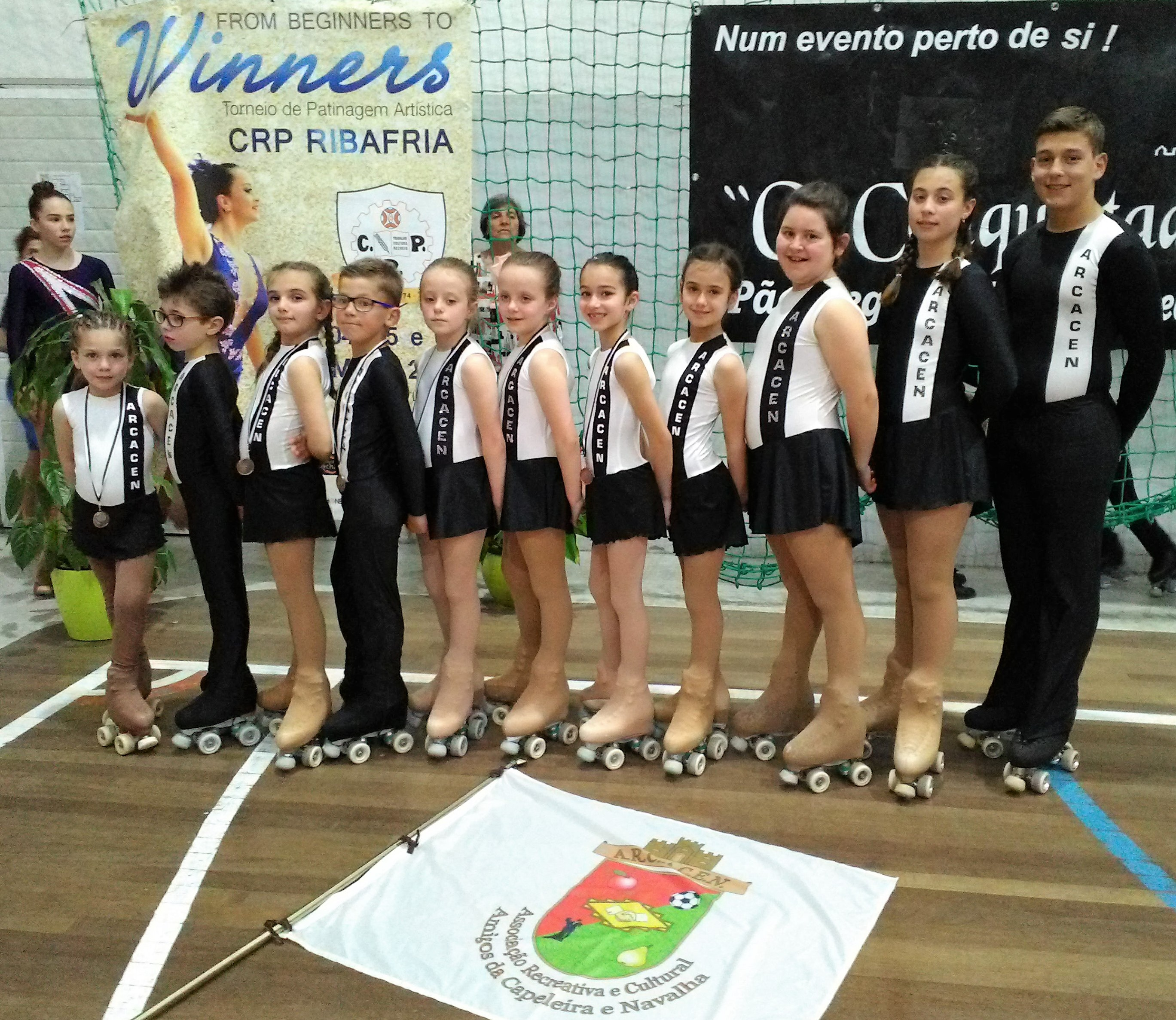 "8b0f0fca0f Patinagem ARCACEN no Torneio ""From Beginners to Winners"""